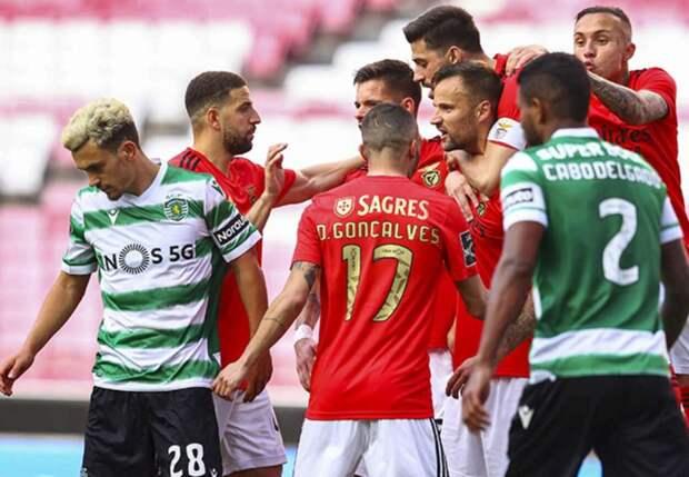 «Бенфика» нанесла «Спортингу» первое поражение в сезоне