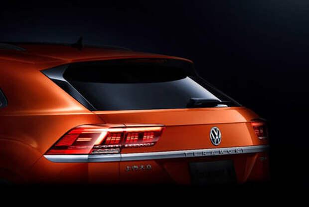 Новый кроссовер Volkswagen: первые фото и информация