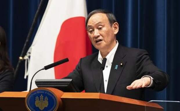 На фото: премьер-министр Японии Есихидэ Суга
