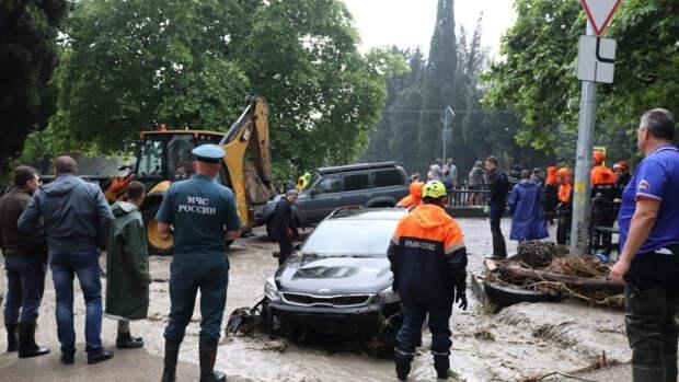 Жители Ялты рассказали о последствиях затопившего город ливня