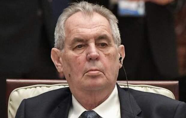 Президент Чехии пытается провернуть фарш назад