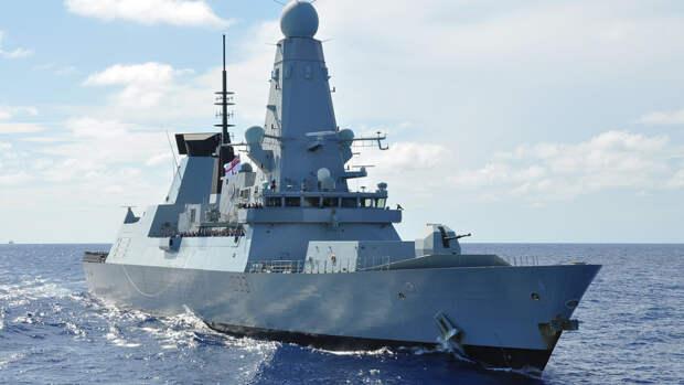 Британский эсминец успешно выдворили с акватории России в 2020 году