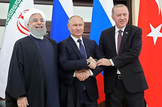 Путин сказал «нет» разделу Сирии на зоны влияния