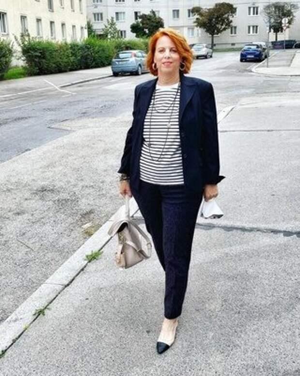Как жительнице Вены удается сделать офисный образ стильным и интересным