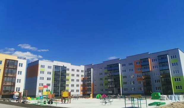 ВОмске достроили новую пятиэтажку и18-этажный дом