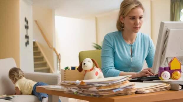 Собственный блог – лучший способ заработка для мам в декрете