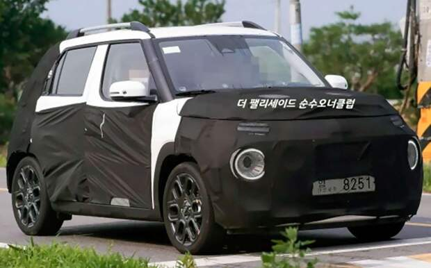 Микро-кроссовер Hyundai Casper дебютирует в сентябре