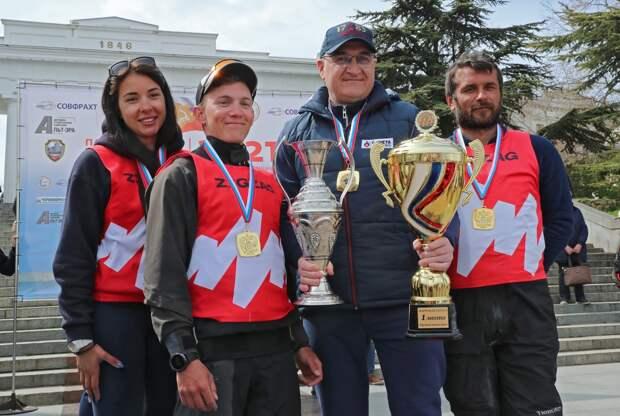 В Севастополе состоялся финальный этап парусной регаты «Русская весна – 2021»
