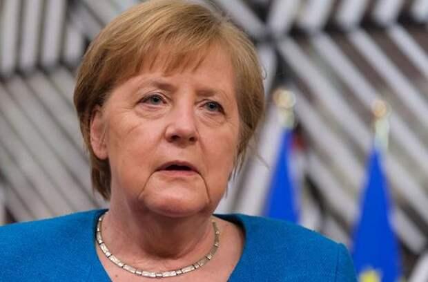 Меркель сообщила, что будет очень довольна, если Путин и Байден проведут встречу