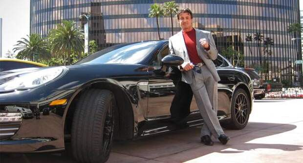 Автопарк Сильвестра Сталлоне — от Chevrolet до Bugatti