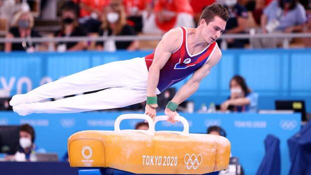 Гимнаст Белявский остался без медали Олимпиады в упражнениях на коне