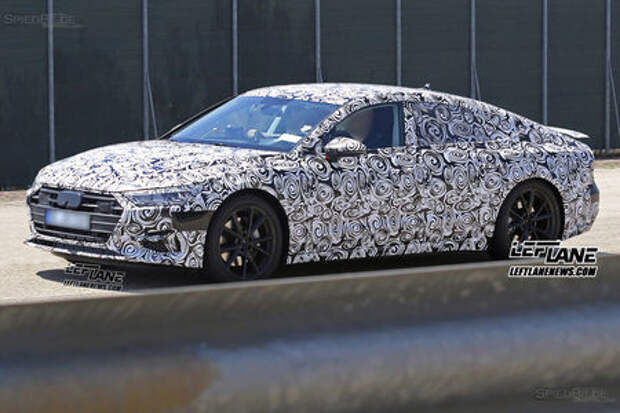 Эмоции на лице: новый Audi A7 останется консерватором