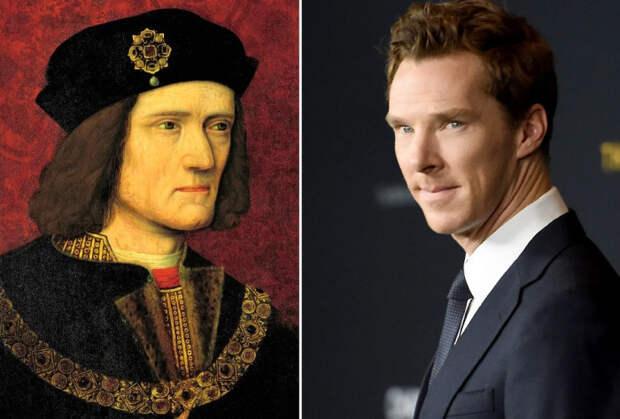 Ричард III Плантагенет и его знаменитый потомок Бенедикт Камбербэтч