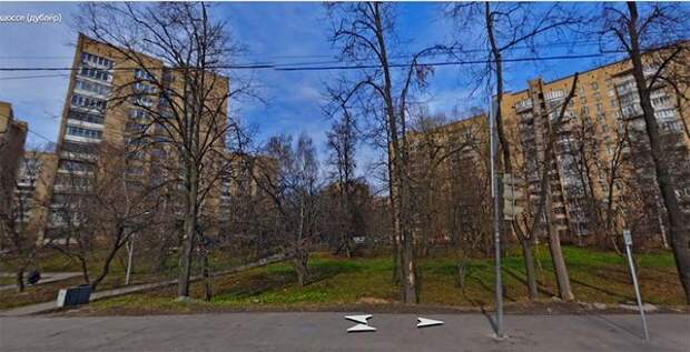 На фото: микрорайон домов в Кунцево для работников ЦК КПСС, в народе именовавшийся «Царское село» (фото с Яндекс-карт).