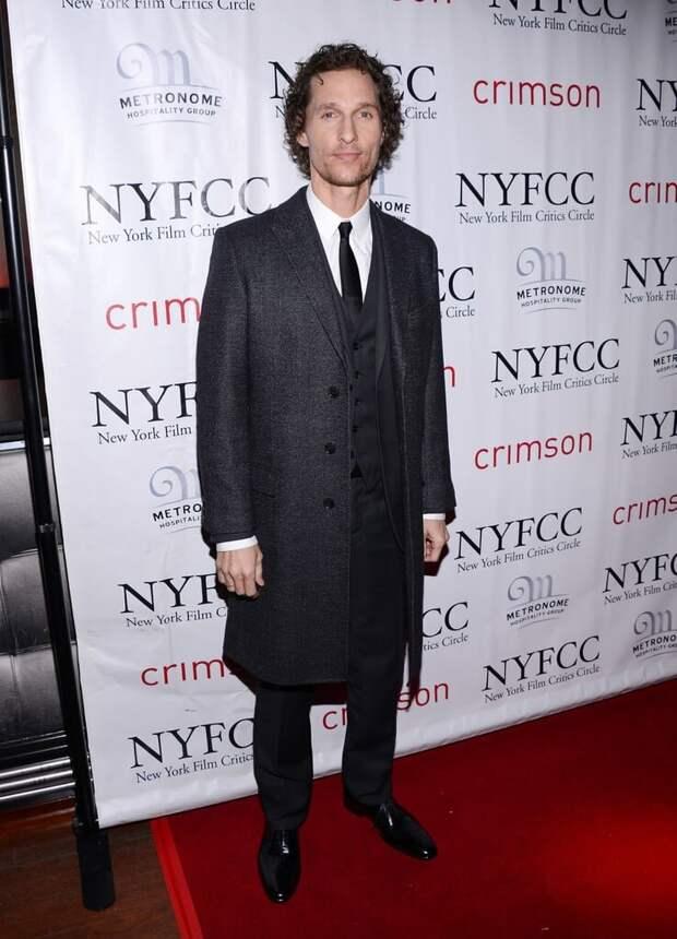 Как одевается Мэттью Макконахи?