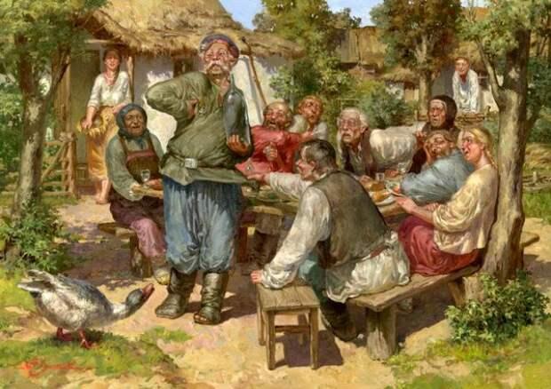 картина художника Чумакова-Орлеанского