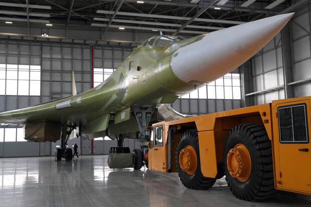 Дебютный полет модернизированного «Белого лебедя» Ту-160М