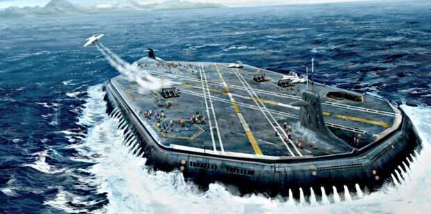 Авианосцы из глубин океана: вечная мечта американского флота