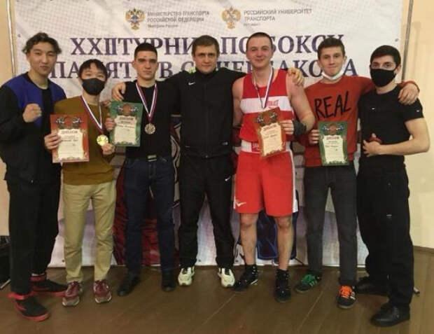 Шесть призовых мест на Всероссийском турнире по боксу взяли тимирязевцы