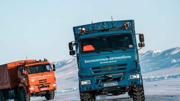 «Газпром нефть» намерена использовать вАрктике беспилотные грузовики