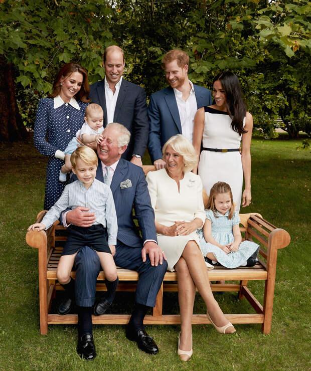 Принцу Уэльскому, 70 лет - Королевский семейный портрет 2018