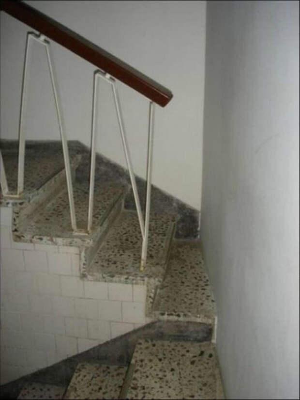 Сужающая лестница.