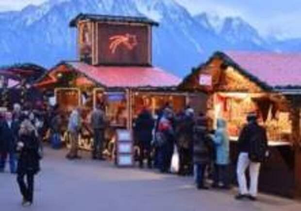 Рождественская ярмарка скоро откроется в Монтрё