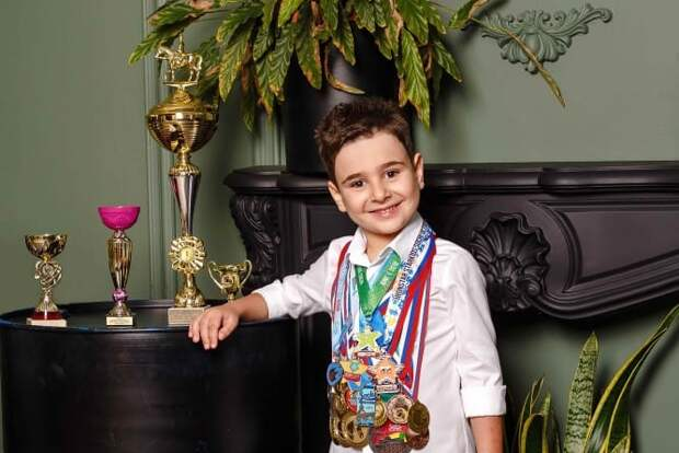 Шестилетний пловец из Сочи установил новый рекорд России