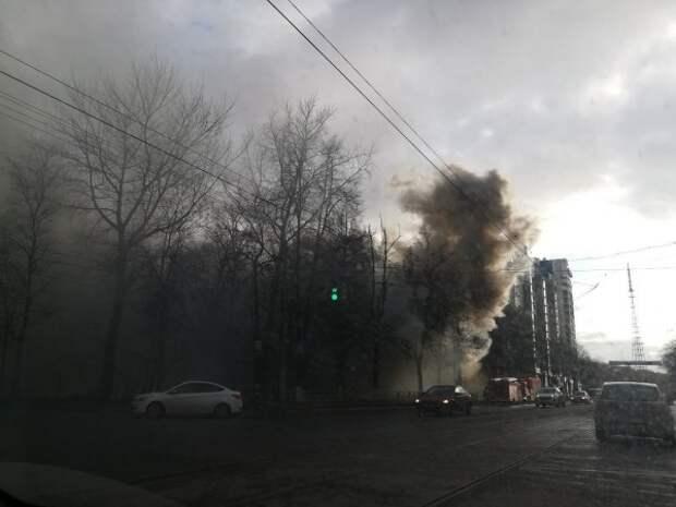 На пожаре в Нижнем Новгороде погибли 5 человек (ВИДЕО)