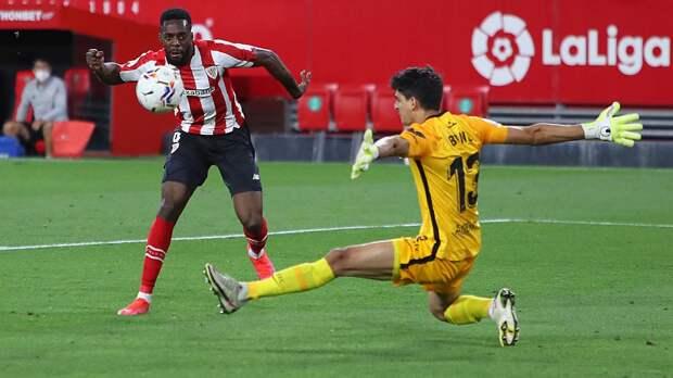 «Атлетик» на последних минутах вырвал победу у «Севильи» в матче Ла Лиги