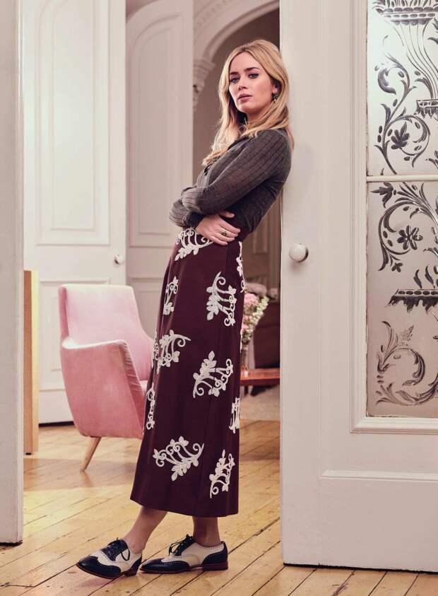 «Там людей не интересуют знаменитости»: Эмили Блант рассказала о переезде в Нью-Йорк