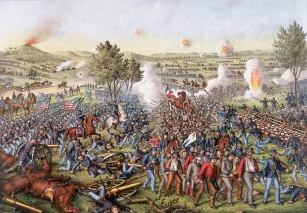 Битва при Геттисберге в 1863 году
