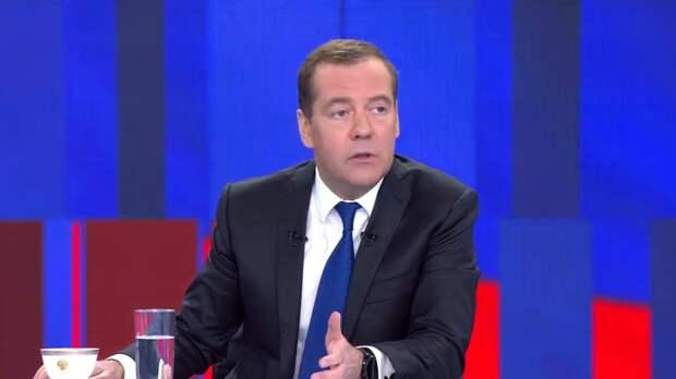 Медведев поддержал арестованных на Украине депутатов Медведчука и Козака