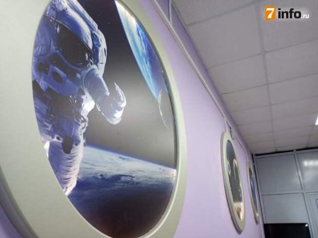 В музее рязанской школы №16 представлены уникальные космические экспонаты