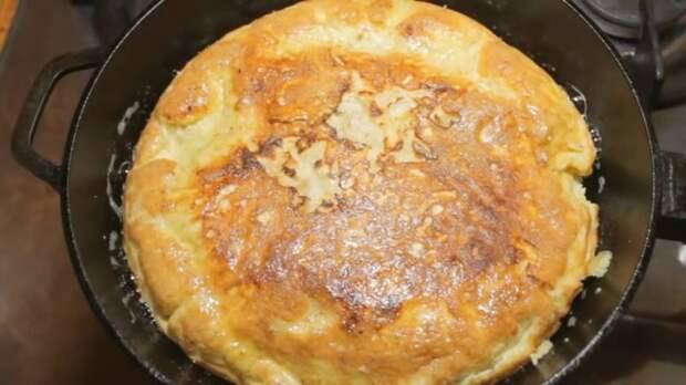 «Ленивый» завтрак из самых вкусных: просто сложить всё в лаваш и поджарить