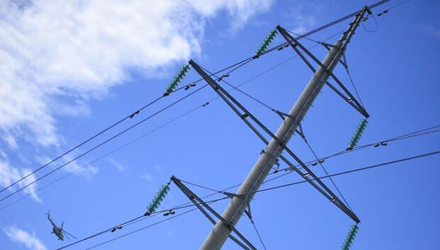 В Подмосковье не допустили массовых аварий на электросетях из‑за грозы