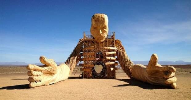 Аудиовизуальные скульптуры Дэниела Поппера, создающие атмосферу фестивалей