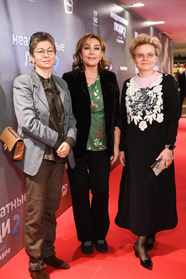 Ирина Горбачева, Елена Малышева и Арина Шарапова познакомились с «Неадекватными людьми»