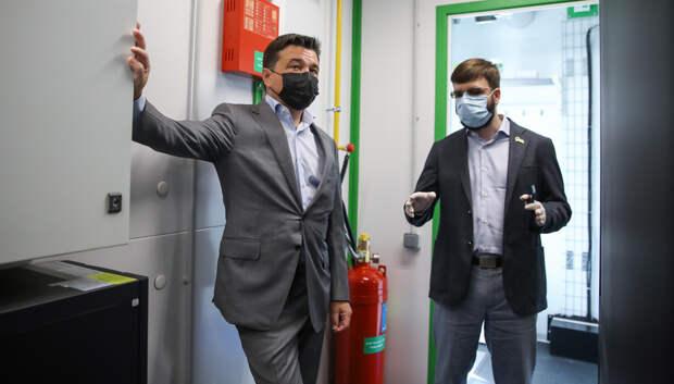 Воробьев открыл производственно‑складской комплекс Industrial Сity в Подольске