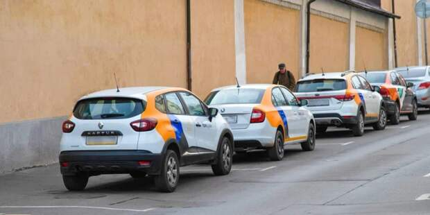 Собянин поручил включить услуги каршеринга в приложение «Московский транспорт»