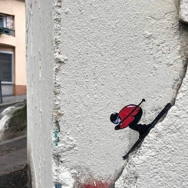 30 гениальных актов вандализма отуличного художника изФранции