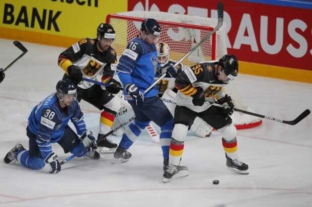 Финляндия вышла в финал чемпионата мира по хоккею