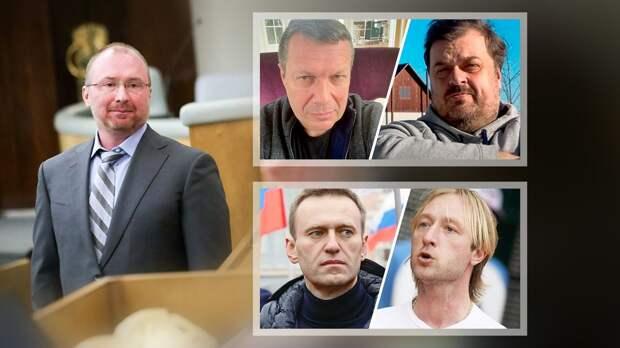Депутат Лебедев рассказал, какой бой ему интереснее: Плющенко— Навальный или Уткин— Соловьев