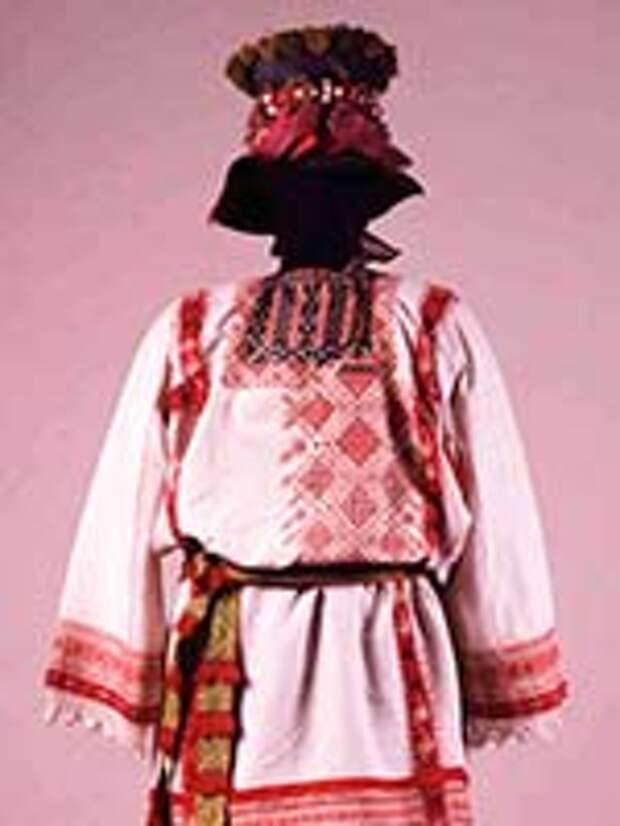 Мужской костюм старообрядцев. Семипалатинская губ. 19 в.