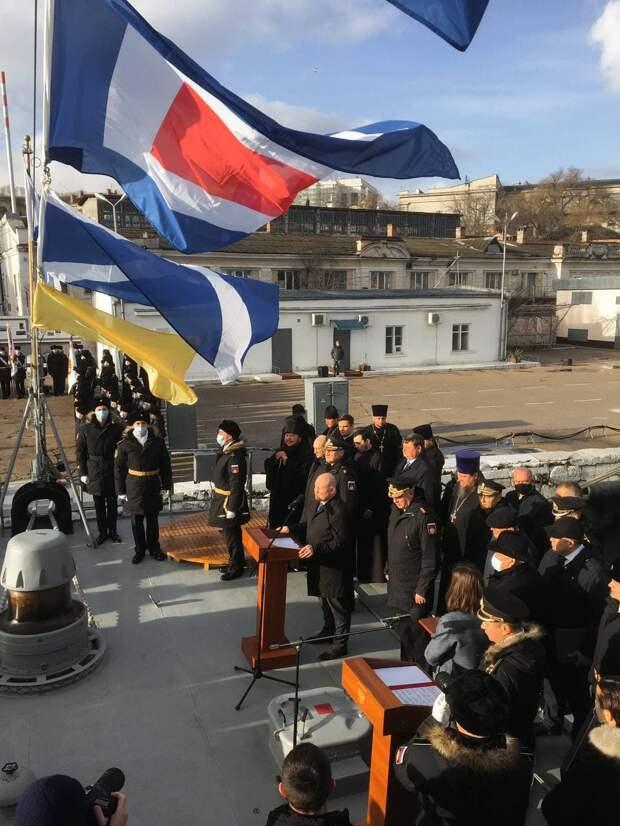 В состав Черноморского флота вошёл новый ракетный корабль «Грайворон»