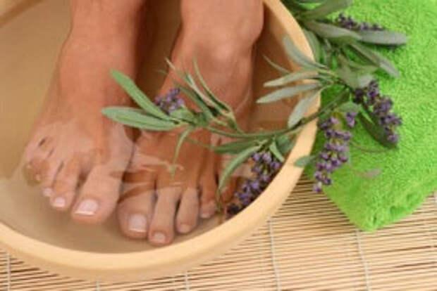 ванночка для ног при вывихе