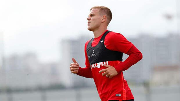 Кокорин тренируется в общей группе. «Спартак» рассчитывает выпустить экс-нападающего «Зенита» против ЦСКА