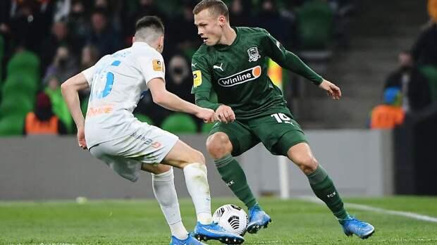 «Зенит» спас ничью в матче с «Краснодаром», отыгравшись с 0:2