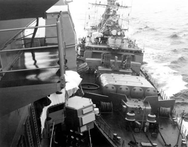 «Навал в Чёрном море»: как советские моряки победили американцев в 1988 году