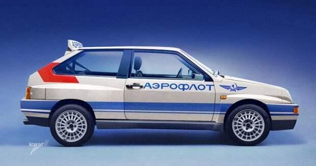 ВАЗ 2108С Интеграл ВТ авто, автодизайн, автомобили, дизайн, фотомонтаж, фотошоп, юмор, янгтаймер